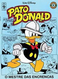 Cover Thumbnail for Álbum Disney (Editora Abril, 1990 series) #6 - Pato Donald: O Mestre das Encrencas