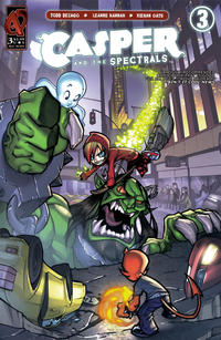 Cover Thumbnail for Casper and the Spectrals (Ardden Entertainment, 2009 series) #3