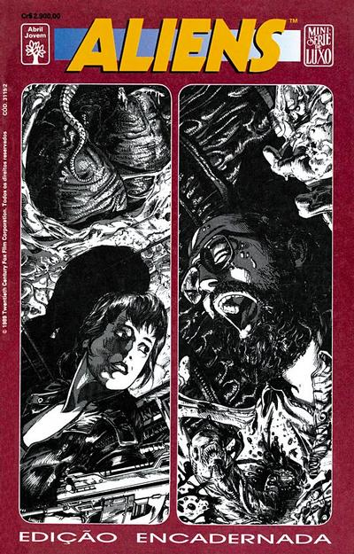 Cover for Aliens (Edição Encadernada) (Editora Abril, 1991 series)