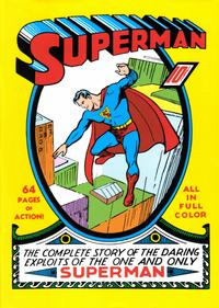 Cover Thumbnail for Superman #1 [Masterpiece Edition] (Chronicle Books, 1999 series) #[nn]