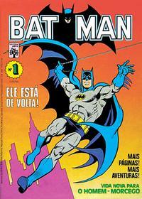 Cover Thumbnail for Batman (Editora Abril, 1984 series) #1