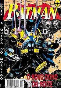 Cover Thumbnail for Batman (Editora Abril, 1995 series) #5