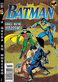 Cover Thumbnail for Batman (Editora Abril, 1995 series) #15