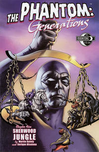 Cover for The Phantom: Generations (Moonstone, 2009 series) #5