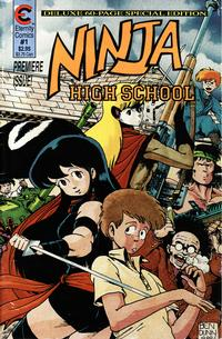 Cover Thumbnail for Ninja High School: The Special Edition (Malibu, 1988 series) #1