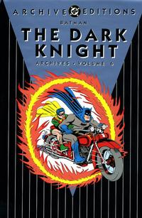 Cover Thumbnail for Batman: The Dark Knight Archives (DC, 1992 series) #6