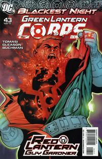 Cover Thumbnail for Green Lantern Corps (DC, 2006 series) #43