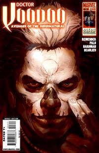 Cover Thumbnail for Doctor Voodoo: Avenger of the Supernatural (Marvel, 2009 series) #3
