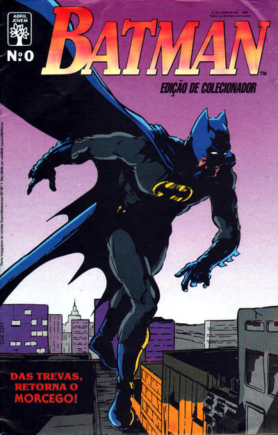 Cover for Batman (Editora Abril, 1990 series) #0