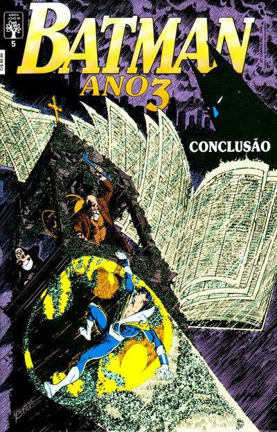 Cover for Batman (Editora Abril, 1990 series) #5