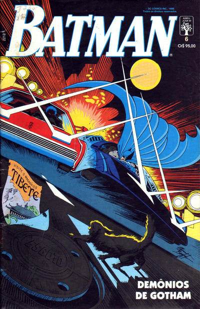 Cover for Batman (Editora Abril, 1990 series) #6