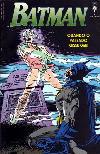 Cover for Batman (Editora Abril, 1990 series) #9