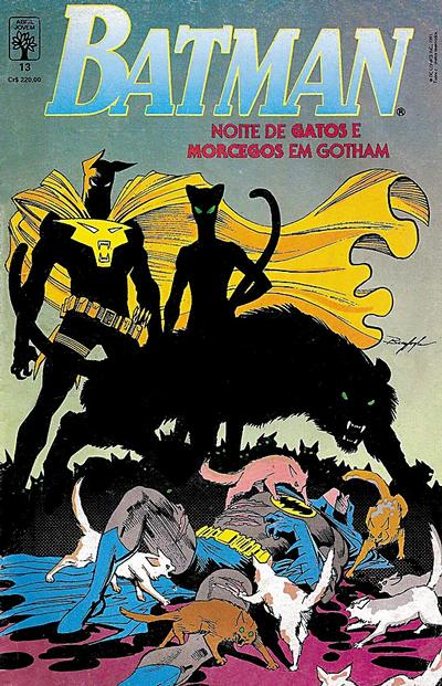 Cover for Batman (Editora Abril, 1990 series) #13