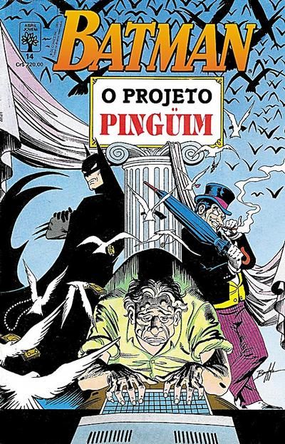 Cover for Batman (Editora Abril, 1990 series) #14