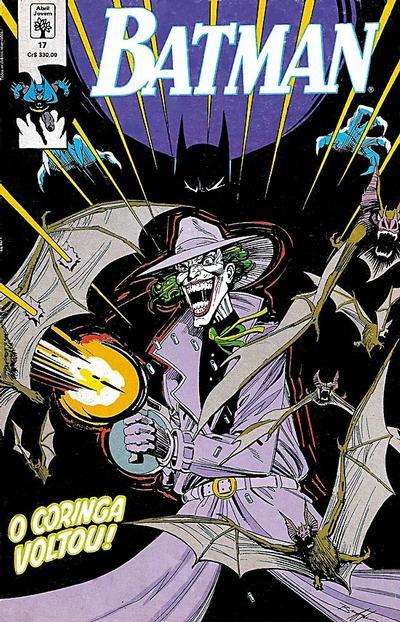Cover for Batman (Editora Abril, 1990 series) #17
