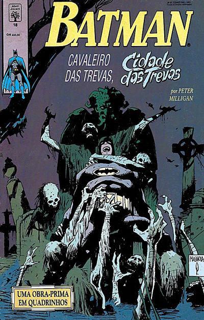 Cover for Batman (Editora Abril, 1990 series) #18