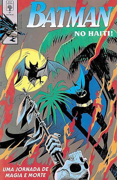 Cover for Batman (Editora Abril, 1990 series) #21