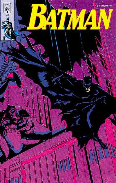 Cover for Batman (Editora Abril, 1990 series) #22