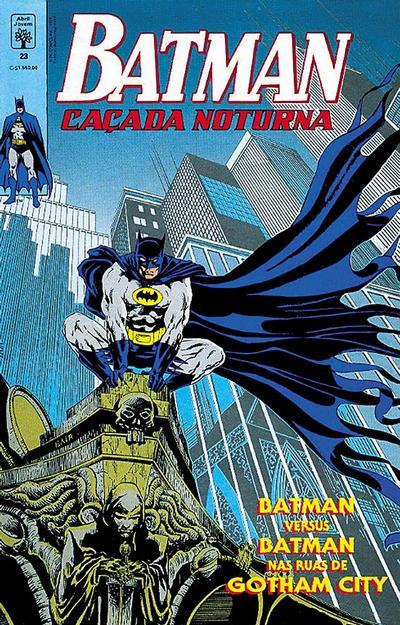 Cover for Batman (Editora Abril, 1990 series) #23