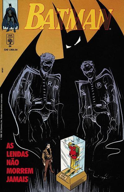 Cover for Batman (Editora Abril, 1990 series) #24