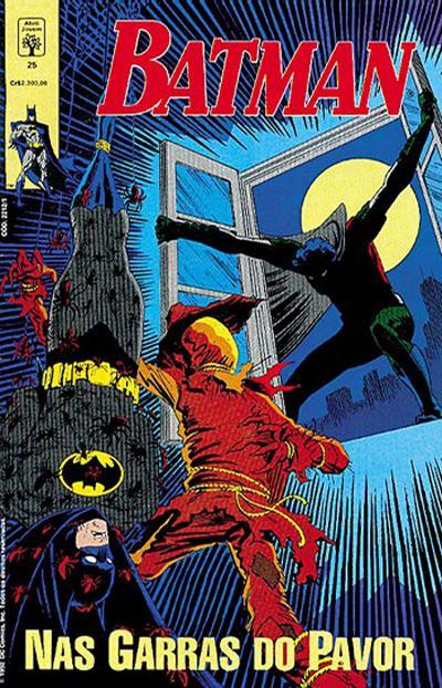 Cover for Batman (Editora Abril, 1990 series) #25