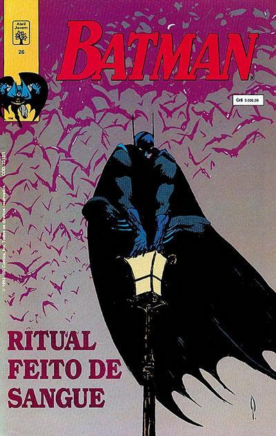 Cover for Batman (Editora Abril, 1990 series) #26