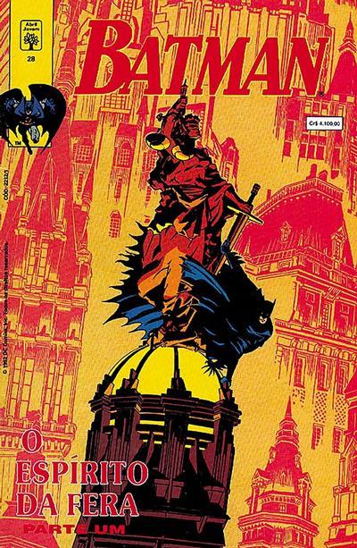 Cover for Batman (Editora Abril, 1990 series) #28