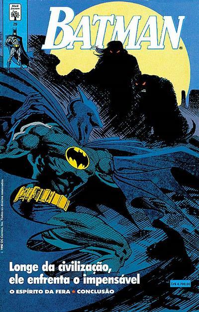 Cover for Batman (Editora Abril, 1990 series) #29