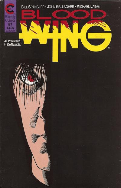 Cover for Blood Wing (Malibu, 1988 series) #1