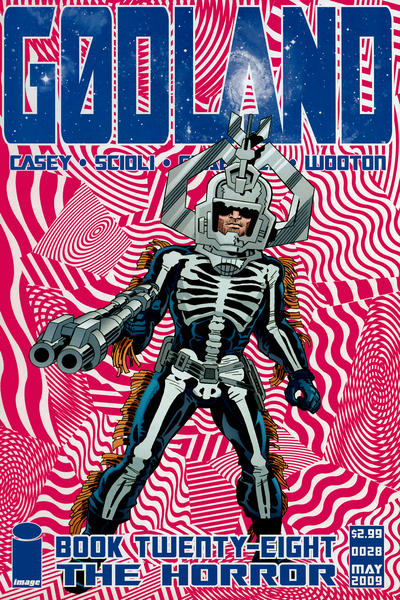 Cover for Godland (Image, 2005 series) #28