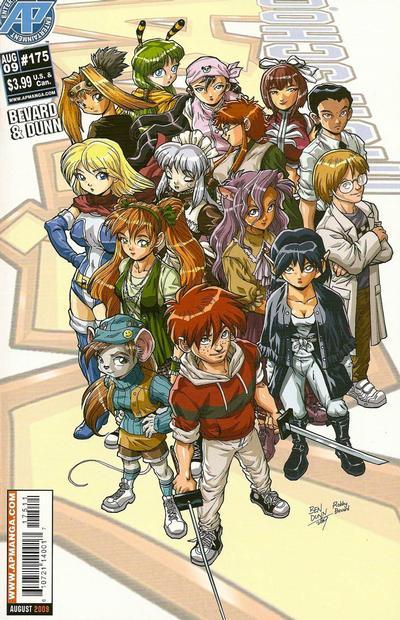 Cover for Ninja High School (Antarctic Press, 1994 series) #175