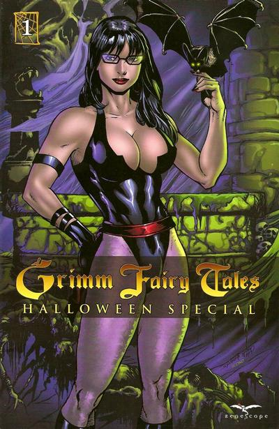 Cover for Grimm Fairy Tales: Halloween Special (Zenescope Entertainment, 2009 series) #1 [Cover A]