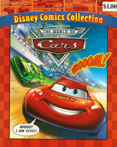 Cover for Disney Comics Collection: The World of Cars (Dalmatian Press / Disney, 2008 series)