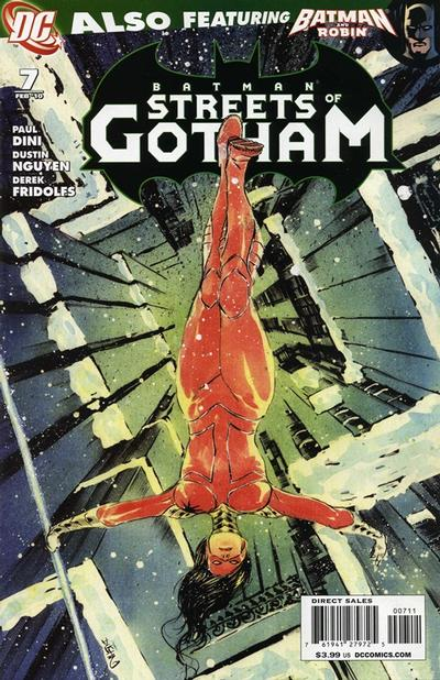 Cover for Batman: Streets of Gotham (DC, 2009 series) #7
