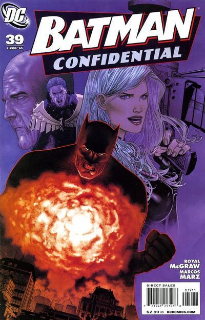 Cover for Batman Confidential (DC, 2007 series) #39