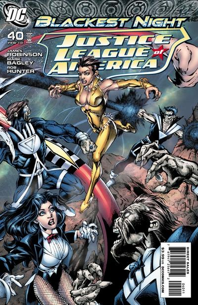 Cover for Justice League of America (DC, 2006 series) #40