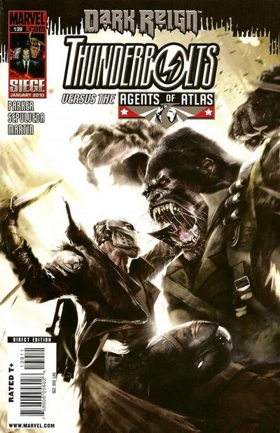 Cover for Thunderbolts (Marvel, 2006 series) #139
