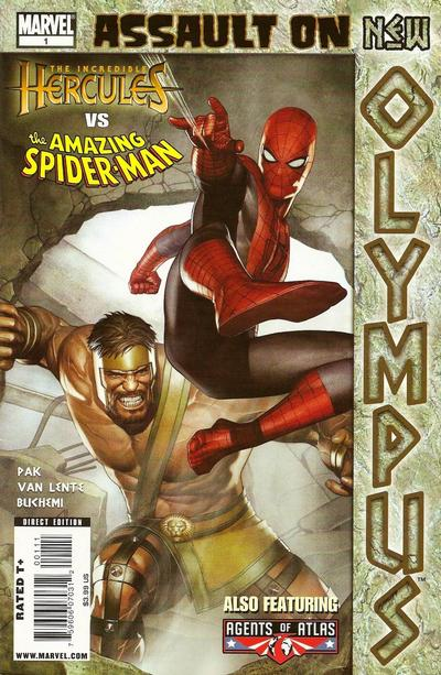 Cover for Assault on New Olympus Prologue (Marvel, 2010 series) #1