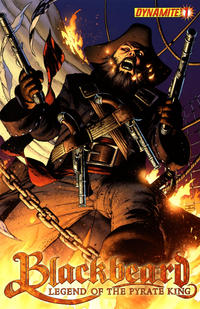 Cover Thumbnail for Blackbeard: Legend of the Pyrate King (Dynamite Entertainment, 2009 series) #1 [Cover A - John Cassaday]