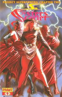 Cover Thumbnail for Project Superpowers: Chapter Two (Dynamite Entertainment, 2009 series) #4
