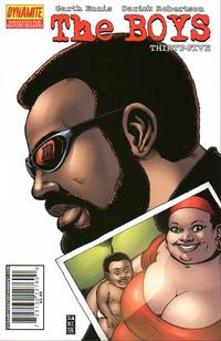 Cover Thumbnail for The Boys (Dynamite Entertainment, 2007 series) #35 [Regular Edition]