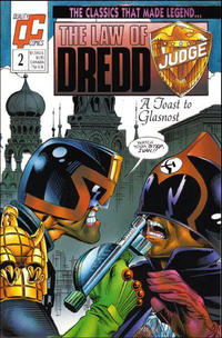 Cover Thumbnail for The Law of Dredd (Fleetway/Quality, 1988 series) #2