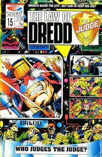 Cover Thumbnail for The Law of Dredd (Fleetway/Quality, 1988 series) #15