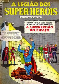 Cover Thumbnail for Lançamento (2ª Série) [A Legião dos Super-Heróis] (Editora Brasil-América [EBAL], 1968 series) #3