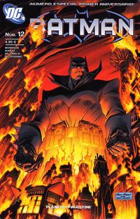Cover Thumbnail for Batman (Planeta DeAgostini, 2007 series) #12