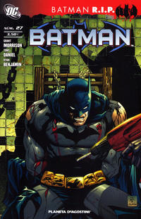 Cover Thumbnail for Batman (Planeta DeAgostini, 2007 series) #27