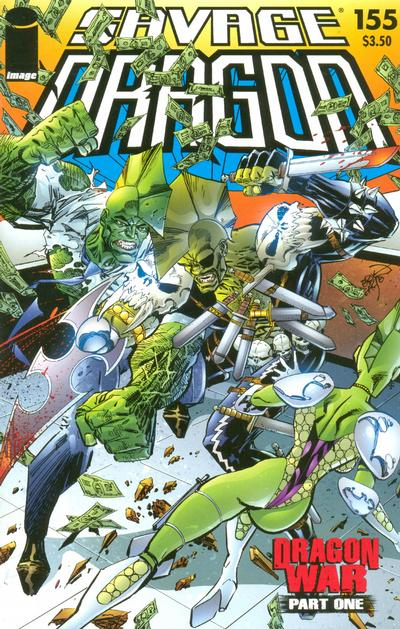 Cover for Savage Dragon (Image, 1993 series) #155