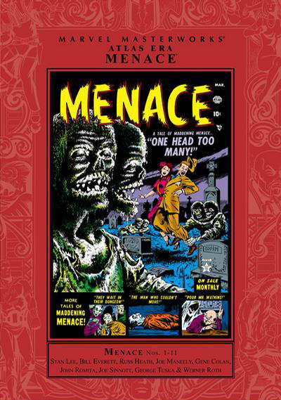 Cover for Marvel Masterworks: Atlas Era Menace (Marvel, 2009 series) #1 [Regular Edition]