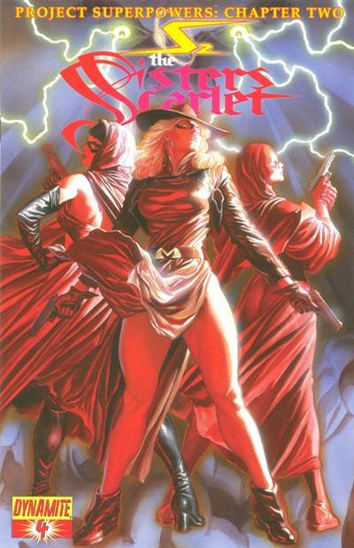 Cover for Project Superpowers: Chapter Two (Dynamite Entertainment, 2009 series) #4 [1 in 25 Variant Cover]