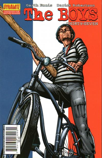 Cover for The Boys (Dynamite Entertainment, 2007 series) #37